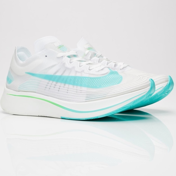 Manchuria Orden alfabetico cometer  Nike Shoes | New Nike Zoom Fly Sp White Rage Green Size 25 | Poshmark
